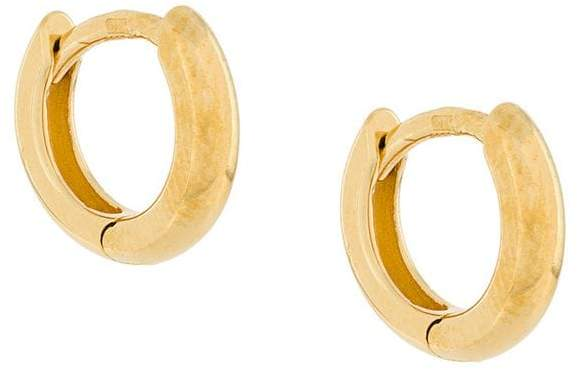 Wouters & Hendrix My Favourite small chunky hoop earrings