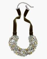 Chico's Sage Multi-Strand Necklace