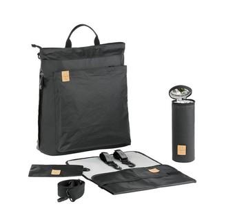 Lassig Green Label Tyve Backpack Diaper Bag Black
