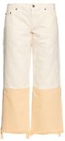 Simon Miller Kozal wide-leg cropped jeans