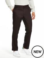 Very Slim Textured Suit Trouser