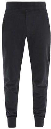 Frescobol Carioca Leblon Organic-cotton Jersey Track Pants - Black