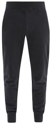 Frescobol Carioca Leblon Organic-cotton Jersey Track Pants - Mens - Black