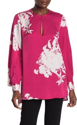 Equipment Delainey Long Sleeve Print Silk Blend Blouse