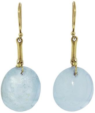 Ten Thousand Things Aquamarine Berry Yellow Gold Drop Earrings