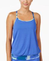 Nike Cascade Drape-Back Active Tankini Top