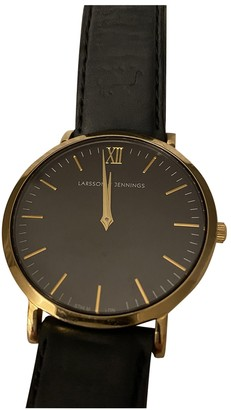 Larsson & Jennings Black Gold plated Watches