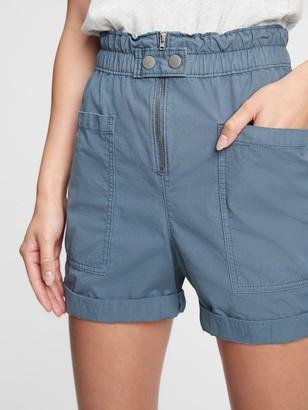 Gap High Rise Utility Shorts
