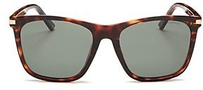 Polaroid Men's Polarized Square Sunglasses, 57mm