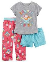 Carter's Girls 4-14 3-pc. Dot Print Pajama Set