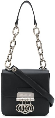 DSQUARED2 Knuckleduster-Flap Square Shoulder Bag