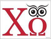 Dormify Chi Omega Owl'Mega Print