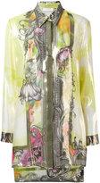 Versace multi printed shirt - women - Silk/Polyester - 42