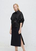 Jil Sander Black Dorothy Oversized Shirt
