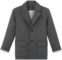 A.P.C. Grey Etretat Jacket - 34 - Grey