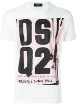 DSQUARED2 punk logo T-shirt