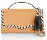 Rebecca Minkoff Chase Phone Leather Crossbody Bag - Beige