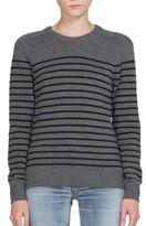 Saint Laurent Distressed Boyfriend Sweater