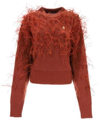 ATTICO Feather Knit Jumper