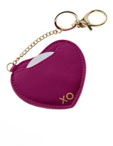 AH!DORNMENTS Pink Heart Keychain