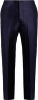 Bottega Veneta Cotton and silk-blend trousers