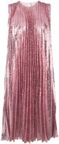 MSGM Sequin Pleated Insert Dress