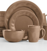 Rachael Ray Cucina Mushroom Brown 16-Pc. Set, Service for 4