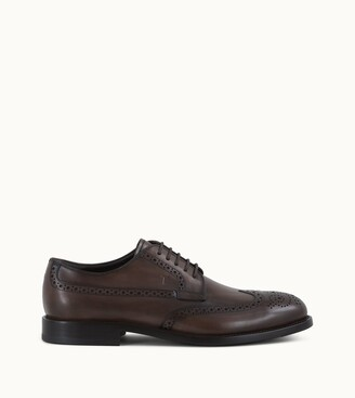 Tod's Lace-up Shoes in Leather