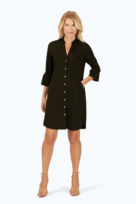 Foxcroft Women's Nolan Non-Iron Stretch Dress