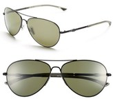 Smith Optics 'Audible - ChromaPop' 60mm Polarized Aviator Sunglasses
