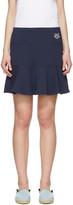 Kenzo Navy Tiger Crest Miniskirt