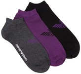 Emporio Armani Cotton Blend Socks - Set Of Three