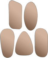 Broste Copenhagen - Art Mirrors - Set of 5 - Copper