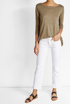 Majestic Linen and Silk T-Shirt