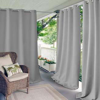 """Connor Solid Indoor/Outdoor Curtain Panel, 52"""" x 84"""""""