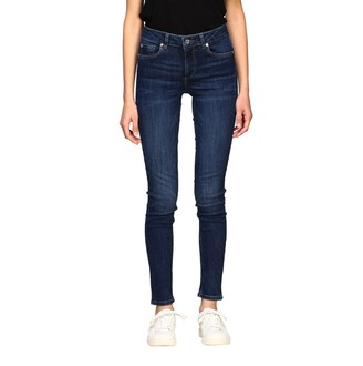 Liu Jo High-waisted Skinny Fit Jeans In Stonewash Denim