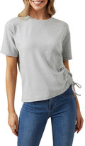 French Connection Ruched T Shirt