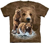 The Mountain Brown Find 10 Brown Bears Tee - Unisex
