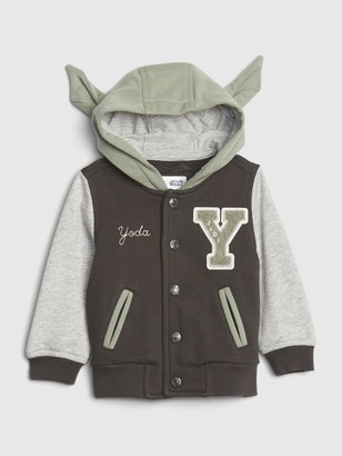 Star Wars babyGap | StarWars Yoda Varsity Jacket