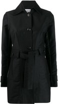 Chanel Pre Owned 2007's tied midi coat
