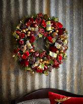 Mackenzie Childs MacKenzie-Childs Yuletide Manor Small Wreath