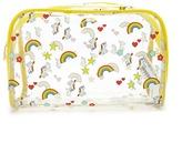 Forever 21 FOREVER 21+ Unicorn Rainbow Makeup Bag