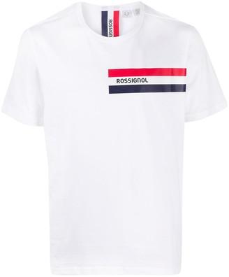 Rossignol logo stripe print T-shirt