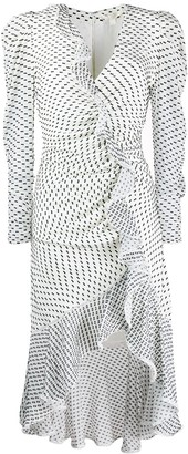 Jonathan Simkhai Asymmetric Ruched Dress