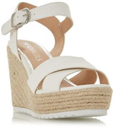 Head Over Heels Katyaa Espadrille Platform Wedge Sandals