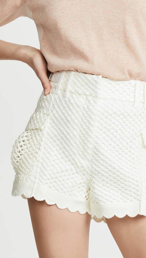 Womens Crochet Shorts Shopstyle