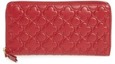 Comme des Garcons Women's Continental Long Wallet - Red