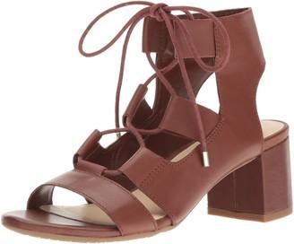 Nine West Women's Serrah Leather Dress Sandal