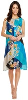 Johnny Was Geo Flower Dress/Slip Women's Dress