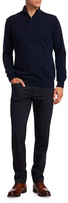 Saks Fifth Avenue COLLECTION Quarter-Zip Cashmere Sweater